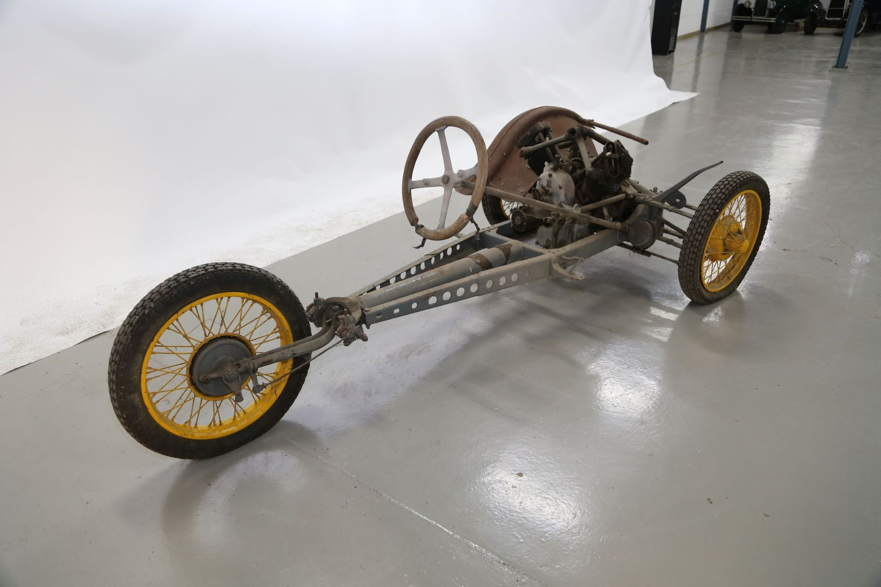 BSA 3-Wheeler Chassis and part engine — 1930? on Bilweb Auctions