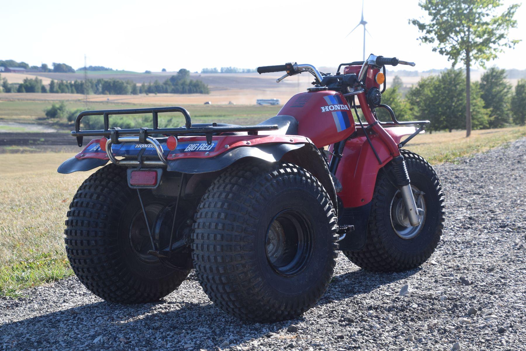 Honda ATC 200E Swampbike — 1984 på Bilweb Auctions