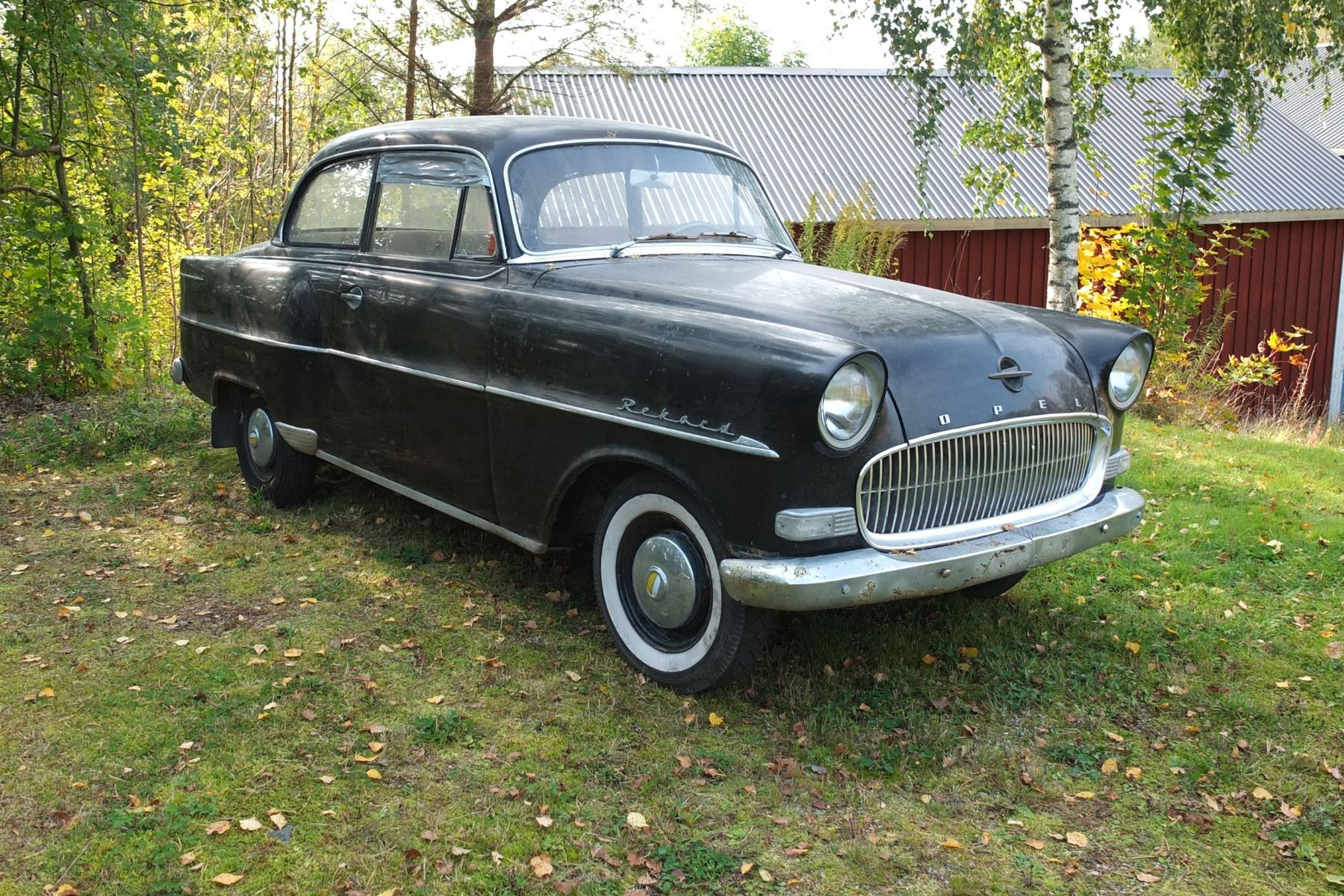 opel olympia rekord — 1957 on bilweb auctions